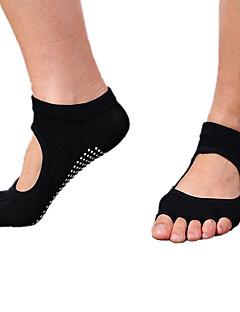 Dames Sokken/Fietssokken Sportsokken Teensokken Antislip sokken Yoga Pilates Ademend Draagbaar Comfortabel Beschermend Anti-Slip-1 paar