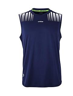 etto® Herre Fotball Skjorte + shorts Klessett Fort Tørring Pustende Vår Høst Klassisk Trening & Fitness Racerløp Basketball Fotball