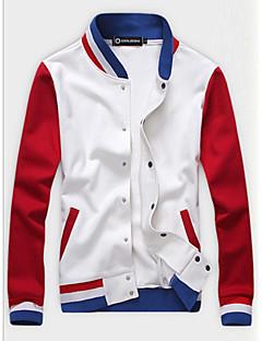 פס עומד קלסי ונצחי מודרני לבוש ליום אתלטי יום הולדת 16 בית הספר ג'קט גברים,אביב סתיו שרוול ארוך רגיל לא זמין