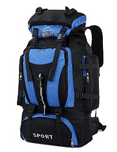 80 L Pacotes de Mochilas Viagem Duffel mochila Mochila para Excursão Alpinismo Acampar e Caminhar Viajar Esportes de Neve Corrida