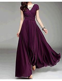 Aliexpress Explosion Modelle V-Ausschnitt kurz-sleeved Sommer neue böhmische Rock Taille Kleid