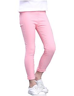 Mädchen Jeans Einheitliche Farbe Sommer Ganzjährig