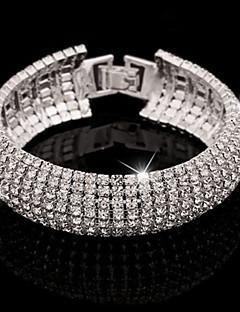 Mulheres Cristal bijuterias Jóias Para Diário Casual