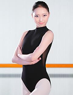 Ballet Gympakken Dames Opleiding Spandex 1 Stuk Mouwloos Hoog