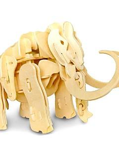 Puzzle Sada na domácí tvoření 3D puzzle Stavební bloky DIY hračky Slon
