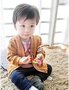 bebê Blusa Cor Única Primavera/Outono-