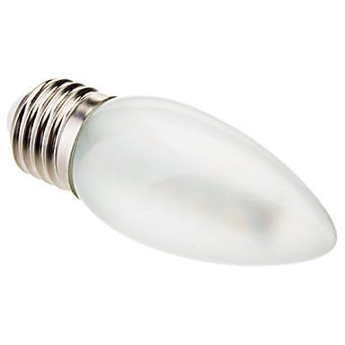 Buy 2.5W E26/E27 LED Candle Lights C35 16 SMD 5050 100-150 lm Warm White Decorative AC 220-240 V