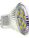 2w gu4 (mr11) projecteur led mr11 9 smd 5730 200 lm blanc chaud blanc 12 v