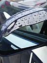 2X auto oglinda retrovizoare de apă de ploaie Sprâncenele Cover Side Shield