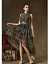 Femei de moda New Sexy Animal Print Elegant Princess Dress Bohemia