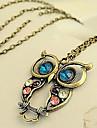 Femme Pendentif de collier Colliers Vintage Zircon Alliage Mode bijoux de fantaisie Bijoux Pour Quotidien