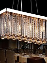 Lustre ,  Contemporain Traditionnel/Classique Chrome Fonctionnalite for Cristal MetalSalle de sejour Chambre a coucher Salle a manger