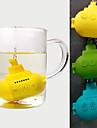 infuser drăguț silicon ceai submarin (culoare aleatorii)