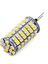 1 pcs g4 8.5w 120smd 3528 850-900lm 2800-3500 / 6000-6500k ampoules de mais blanc chaud / froid dc 12v