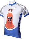 ILPALADINO Maillot de Cyclisme Homme Manches Courtes Velo Maillot Hauts/Tops Sechage rapide Resistant aux ultraviolets Respirable Diminue