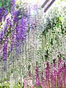 Une succursale Soie Plastique Campanule Guirlande et Fleur Murale Fleurs artificielles 110*50*15cm