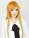 Peruci de Cosplay Sword Art Online Asuna Yuuki Oranj Lung Drept Anime Peruci de Cosplay 80 CM Fibră Rezistentă la Căldură Feminin