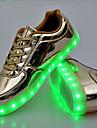 Unisex Adidași de Atletism Primăvară Vară Toamnă Iarnă Confortabili Noutăți Aprinde saboții PU Outdoor Casual Atletic Dantelă LEDAuriu