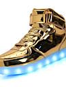 Unisex Adidași Plimbare Confortabili Tălpi cu Lumini Pantofi Usori Imitație de Piele Primăvară Vară Toamnă De Atletism Casual Dantelă LED