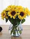 6 Une succursale Soie Tournesols Fleurs artificielles