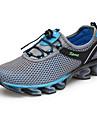 Bărbați Adidași de Atletism Confortabili Țesătură Vară Toamnă Outdoor Atletic Alergare Toc Jos Albastru Închis Gri Bleumarin 2.5 - 4.5 cm