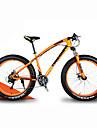 Velo tout terrain Velo de Neige Cyclisme 21 Vitesse 26 pouces/700CC 40 mm SHIMANO 30 Frein a Disque Fourche a Suspension Cadre Rigide