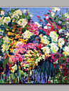 Peint a la main A fleurs/Botanique Moderne Un Panneau Toile Peinture a l\'huile Hang-peint For Decoration d\'interieur