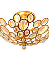 Lightmyself 3 lumieres d\'or lampe de plafond en cristal moderne a l\'interieur lumieres pour salon chambre salle a manger