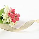 Χαμηλού Κόστους Κορδέλες Γάμου-Συμπαγές Χρώμα Μεταλλικό Κορδέλες γάμου Piece / Σετ Μεταλλική Κορδέλλα Διακοσμήστε την βάση μπομπονιέρας Διακοσμήστε την συσκευασία δώρου
