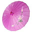 """Χαμηλού Κόστους μακιγιάζ βούρτσα σύνολα-Μετάξι Οι φίλοι και οι ομπρέλες Piece / Σετ Ομπρέλα Θέμα Κήπος Ασιατικό Θέμα Λουλακί19 """"ύψος x 32 1/3 """" σε διάμετρο(48εκ × 82εκ σε"""
