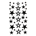 baratos Tatuagens Temporárias-#(5) Tatuagem Adesiva Tatuagens temporárias Série dos desenhos animados Assenta Relaxadamente / Descartável Arte para o Corpo Braço / Tatuagens temporárias estilo decalque / Etiqueta do tatuagem