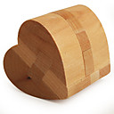 cheap Wooden Puzzles-Wooden Puzzle / IQ Brain Teaser Heart Professional Level / Speed Wooden Classic & Timeless Boys' Gift