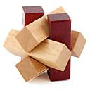 baratos Decorações de Bolo-Quebra-Cabeças de Madeira / Quebra-Cabeças Inteligentes / Quebra-Cabeça Kong Ming Nível Profissional / Velocidade De madeira 1 pcs Clássico Crianças Para Meninos Dom