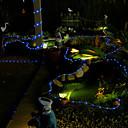 hesapli LED Şerit Işıklar-Dizili Işıklar 100 LED'ler Dip Led Mavi Su Geçirmez / Dekorotif / Noel Düğün Dekorasyonu 2 V 1pc / 1set / IP44