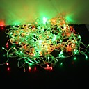 cheap LED String Lights-String Lights 300 LEDs Dip Led Multi Color Party / Decorative / Lovely 220-240 V 1 set