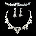 cheap Wedding Shoes-Women's Others Jewelry Set Earrings / Necklace / Tiaras - Regular For Wedding / Party / Anniversary