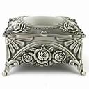 preiswerte Schmuck-Box-Damen Schmuckbehälter Wie im Bild dargestellt Zinklegierung Luxuriös Retro Modisch Hochzeit Jahrestag Alltag