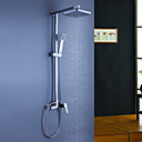 cheap Shower Faucets-Shower Faucet - Contemporary Chrome Shower System Ceramic Valve