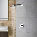 cheap Wall Sconces-Shower Faucet - Contemporary Chrome Shower Only Ceramic Valve