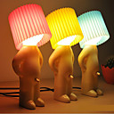 abordables Lámpara de Mesa-diseño tímido muchacho blanco cálido Lámpara de mesa LED (colores surtidos)