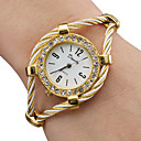 cheap Fashion Watches-Women's Ladies Fashion Watch Bracelet Watch Quartz Gold Analog Sparkle Bangle - Gold One Year Battery Life / SSUO 377