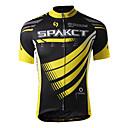 cheap Cycling Jerseys-SPAKCT Men's Short Sleeve Cycling Jersey - Yellow Bike Jersey, Quick Dry, Breathable