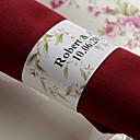 preiswerte Hochzeitsgeschenke-Hochzeit Servietten - 50pcs Serviettenringe Hochzeit Jahrestag Geburtstag Verlobungsfeier Brautparty Quinceañera & Der 16te Geburtstag