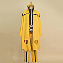 ieftine Ștras&Decorațiuni-Inspirat de Naruto Naruto Uzumaki Anime Costume Cosplay Costume Cosplay Peteci Manșon Lung Geacă Cămașă Pantaloni Cover pantof Cordeluțe