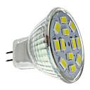baratos Lâmpadas LED de Foco-2 W 250-300 lm GU4(MR11) Lâmpadas de Foco de LED MR11 12 Contas LED SMD 5730 Branco Natural 12 V