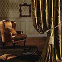 preiswerte Gardinen-Vorhänge drapiert Schlafzimmer Polyester Jacquard