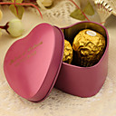cheap Favor Holders-Heart Creative Tins Favor Holder with Pattern Favor Boxes Favor Tins and Pails - 24