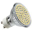 זול Building Blocks-4 W תאורת ספוט לד 350 lm GU10 MR16 80 LED חרוזים SMD 3528 לבן חם 220-240 V