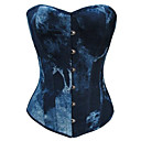halpa Videopeli-cosplay-korsetti gothic lolita mekko lolita clip-on naisten sininen lolita tarvikkeet väri kaltevuus lolita puuvilla / polyesteri kangas