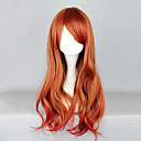 cheap Men's Oxfords-Lolita Wigs Sweet Lolita Dress Orange Lolita Lolita Wig 26 inch Cosplay Wigs Solid Colored Wig Halloween Wigs